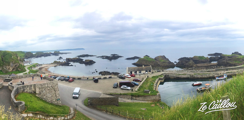 Discover this game of thrones filming location in Ballintoy harbour