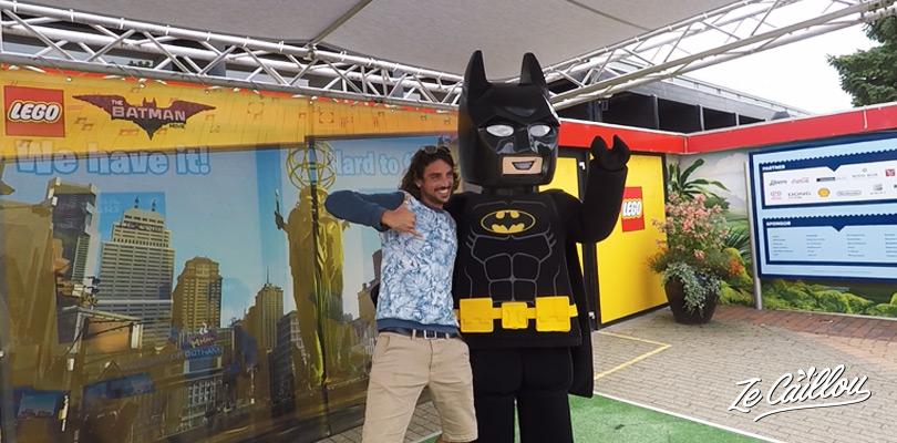 Découvrir les personnages tel que Batman et retourner en enfance à Legoland
