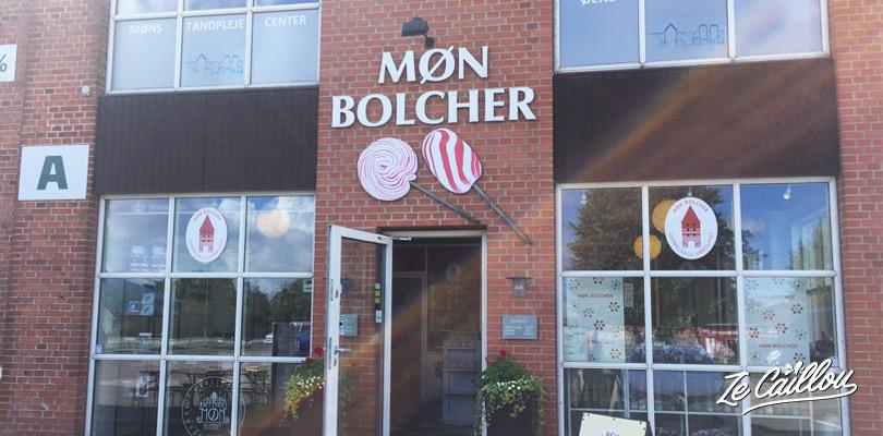 Visiter la fabrique de bonbons à Mon au Danemark