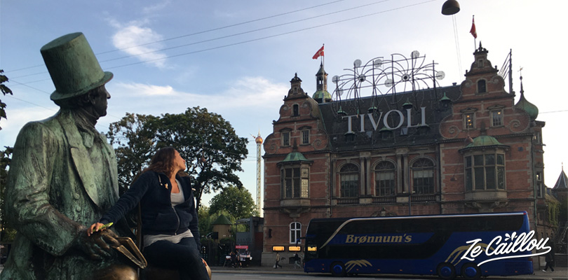 Let's have fun in the famous Tivoli Park of Copenhagen in Denmark