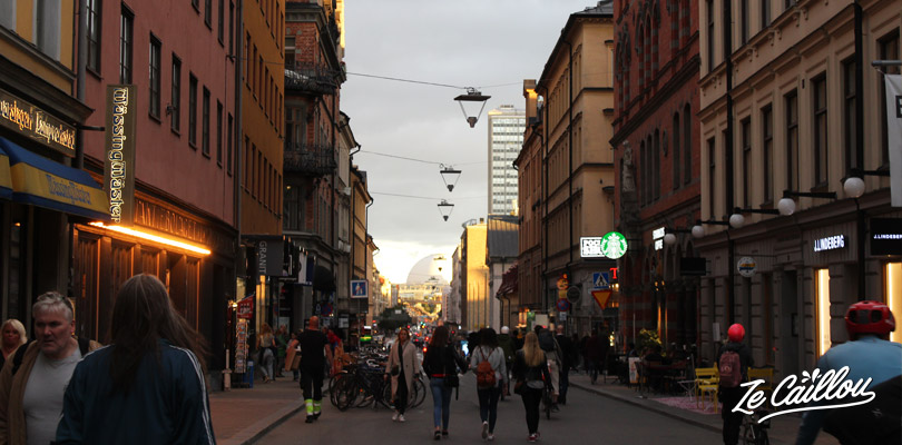 Walk along the Sodermalm streets when you visit Stockholm in Sweden