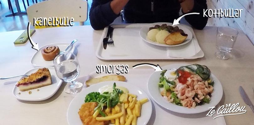 Goûter les spécialités locales suédoises, boulettes, kanelbulle, smorgas en Suède.