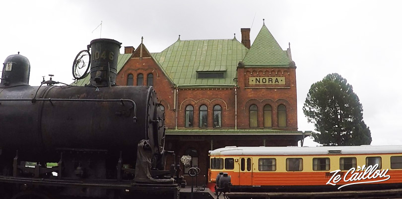 Découvrez l'histoire de la ville de Nora où a été ouvert la 1ère ligne de train publique de Suède.