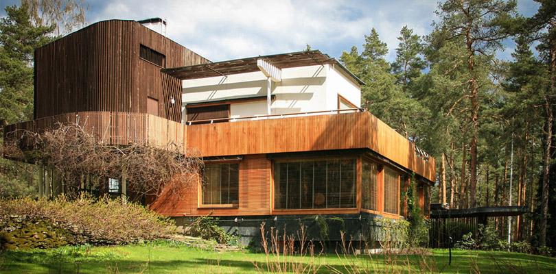 La villa Mairea desginée par l'architecte finlandais Alvar Aalto