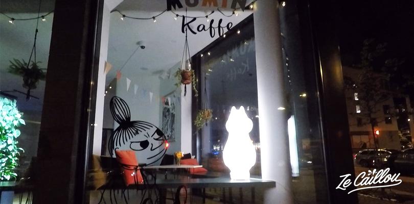 Prendre un café au kaffe Mumins, le dessin animé finlandais avec les hippopotames