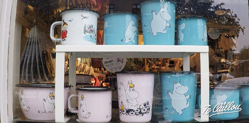 Vaisselle, mug, tasses et autres décoration Moomins (moumines) dessin animé finlandais