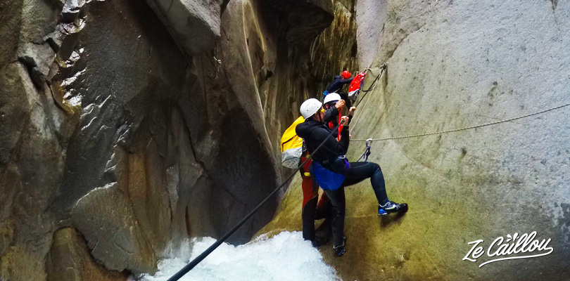 Have some thrills with the Trou Blanc canyoning in the Cirque de Salazie.