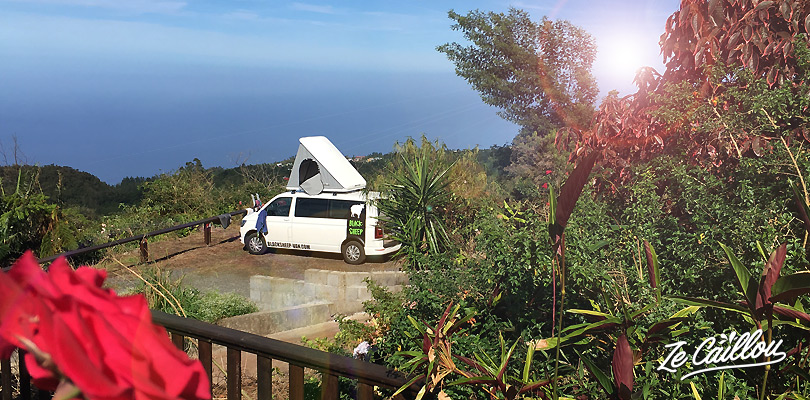 Find great spots to sleep for you van roadtrip in Reunion Island.