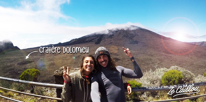 Visit the Pas de Bellecombe and hike the amazing Dolomieu crater on the Reunion island volcano.