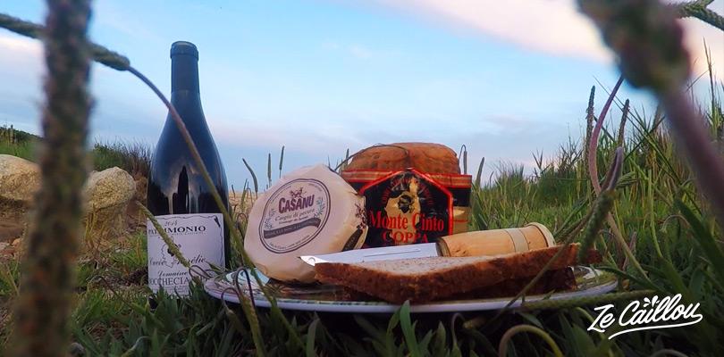 Goûtez aux produits locaux de Corse, fromage, charcuterie, vins...