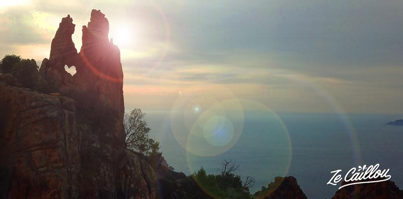 Découvrez le coeur caché dans les montagnes rocheuses de Corse.