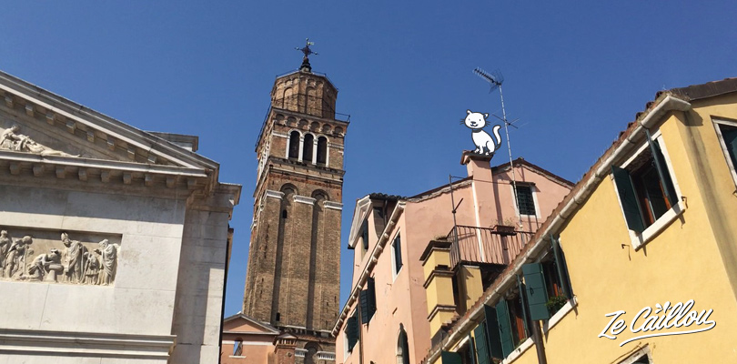 Discover the Venice leaning tower during your visit in Venice, close to the music museum.