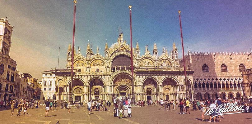 Visit the fabulous and free San Marco basilic in Venice, Italy.