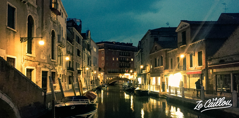 Have a great night life in the Canaregio district of the romantic Venice, find info on zecaillou travel blog.
