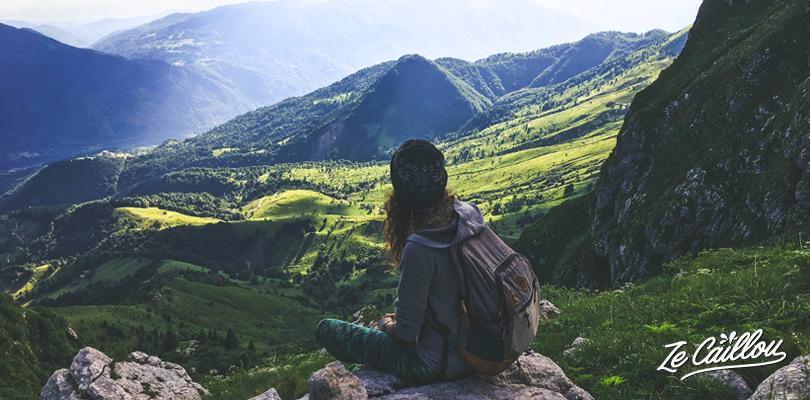 Meilleur paysage lors de la marche du Mont KRN, des airs de Machu Pichu au Pérou.