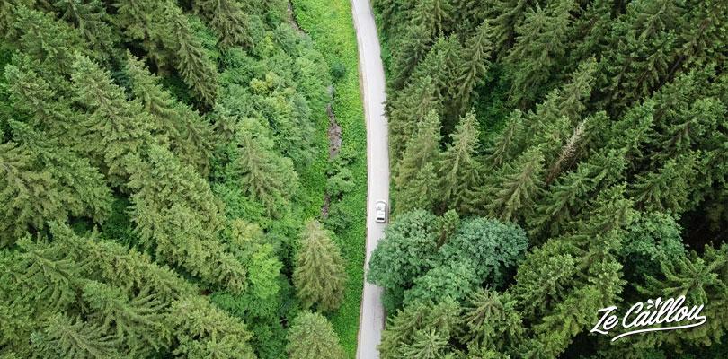 Les plus belles routes de Slovénie avec un van en road trip en Europe.