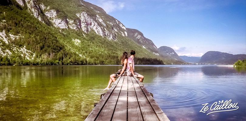 Nous avons découvert des paysages magnifiques lors de notre roadtrip en van en Slovénie.