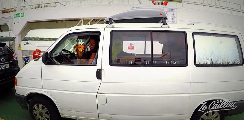 Prendre le ferry avec un chien en Europe, tout ce qu'il faut savoir sur notre blog.
