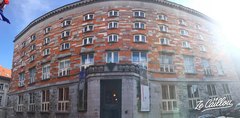 Joze Plecnik, an important slovenian architect, and its buildings in Ljubljana.