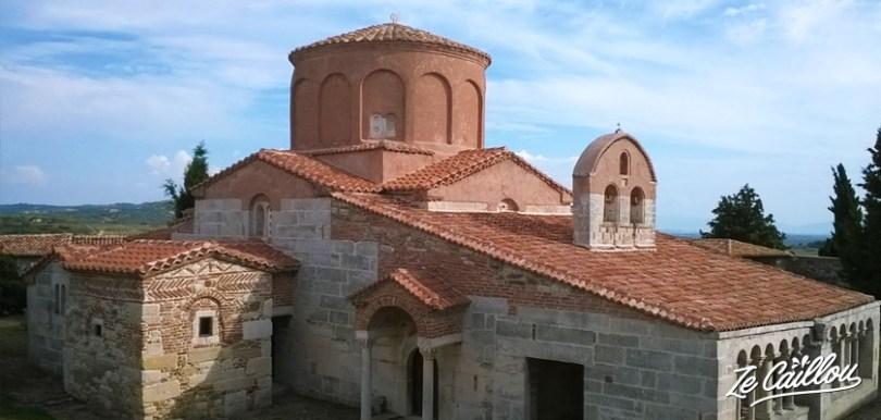 Le site Apollonia proche de Fier lors d'un road trip en Albanie en van aménagé.