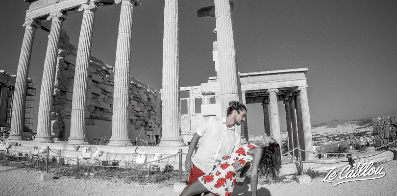 Visit the acropolis during your holidays in Athens, Greece.