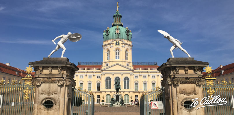 Charlottenburg castle and garden less than 1h from Berlin center.