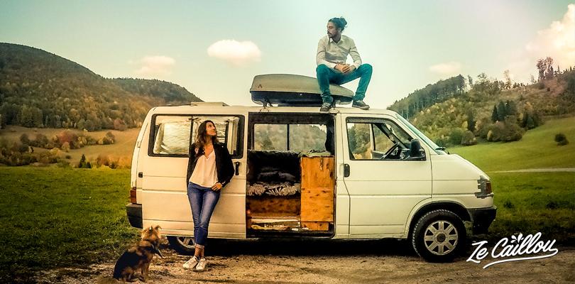 Découvrez les magnifiques routes de Slovaquie en van lors d'un road trip en Europe.