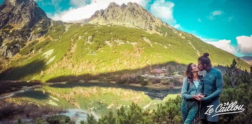 Superbe randonnée dans les hautes Tatras de Slovaquie un massif magnifique.