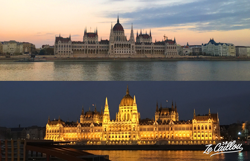 Have a look on Budapest parliament, a real postal card, day and night.