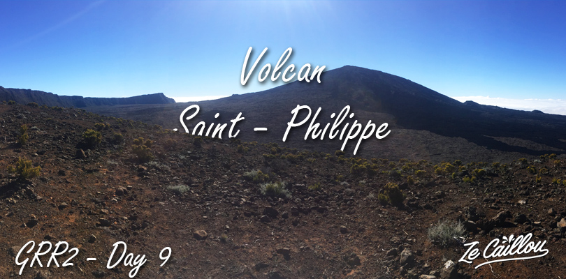 The grr2 day 9 is the last stage of this great trek in reunion island.