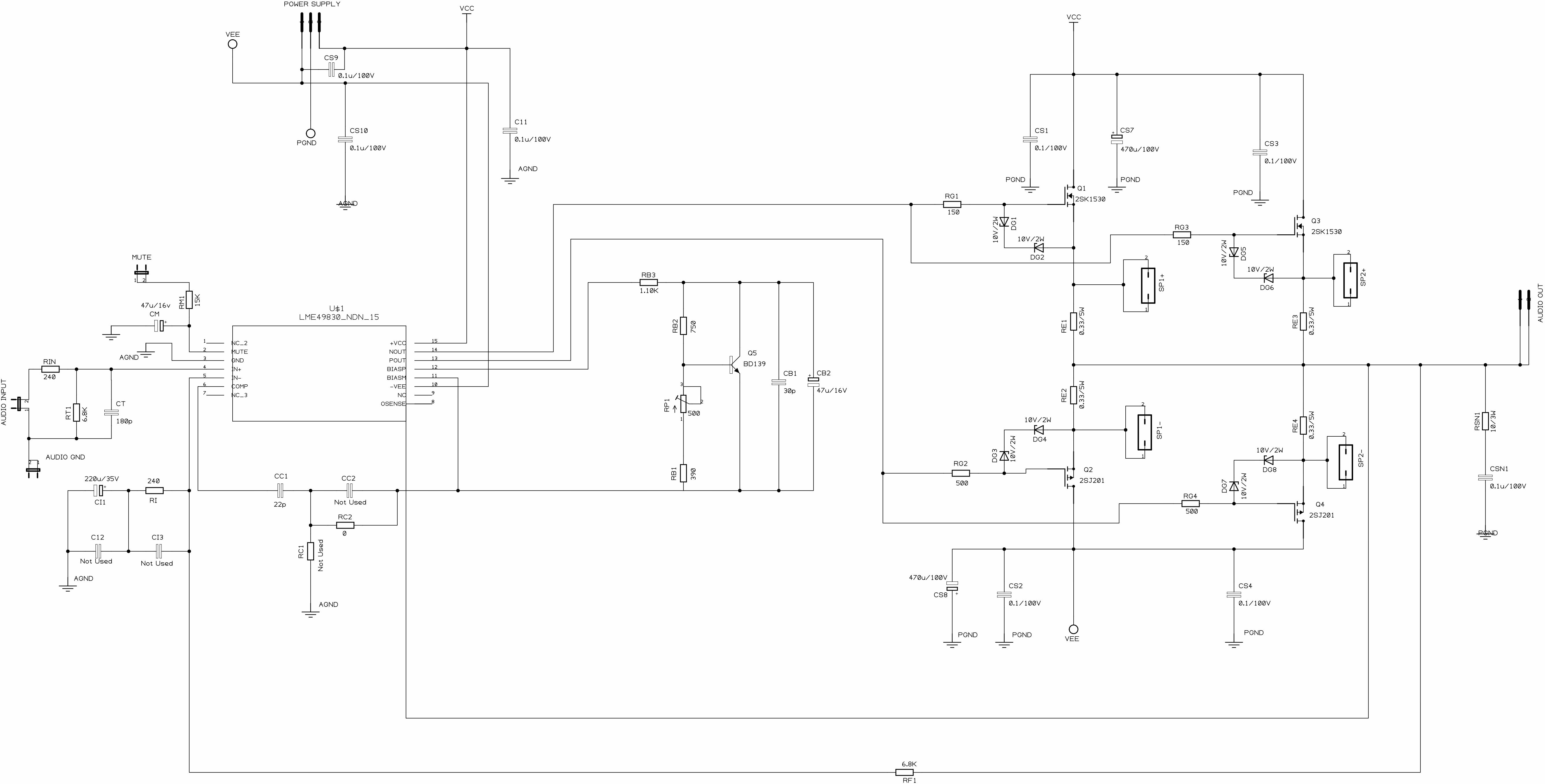 Perhaps Complete Power Amplifier Diy Mjejetj
