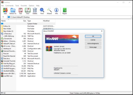 WinRAR Crack 6.0 Beta 2 Full Keygen Download [Latest Version]