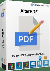AlterPDF Pro Crack