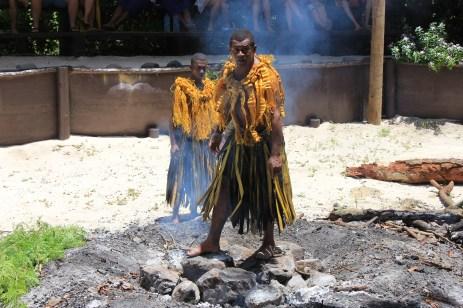 Fiji 2011 - Bounty Island trip - fire walking