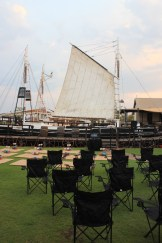 Our own private picnic and movie event