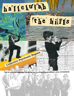 Hallelujah the Hills upcoming shows