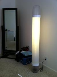 DIY Remote Controlled, Dimmable LED Lamp!