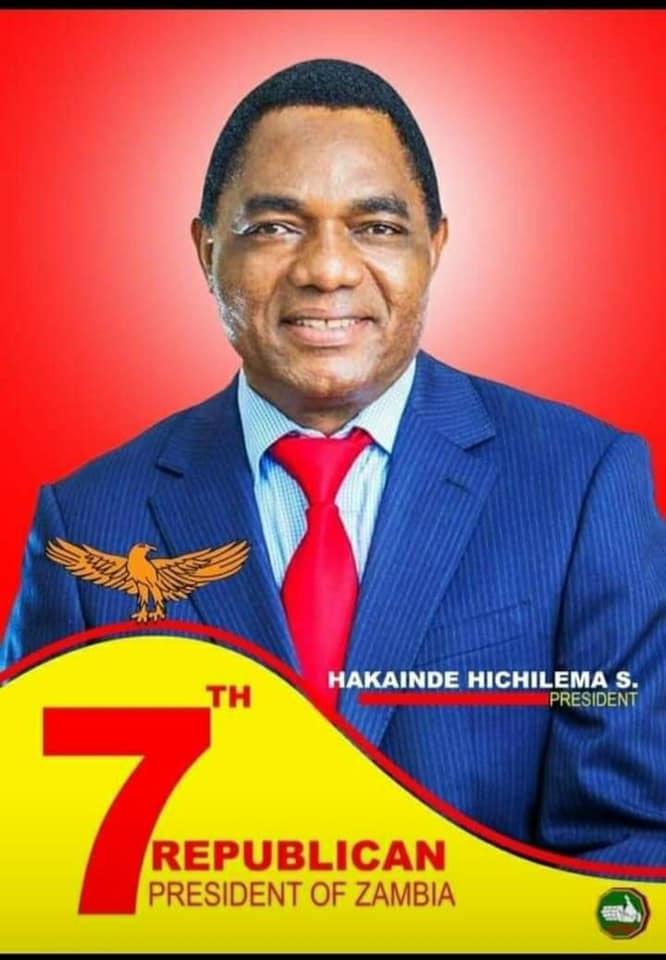 Hakainde Hichilema Wins Presidential Election
