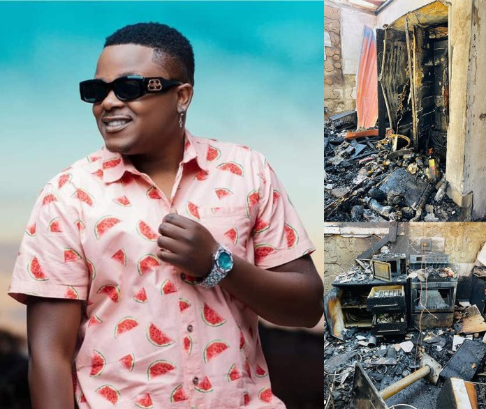 T-Sean's house gutted by fire [Press Statement]