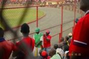 a nkana taunting a Green Buffaloes fan
