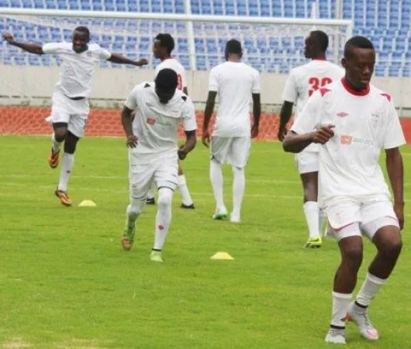 Zanaco in pre season training