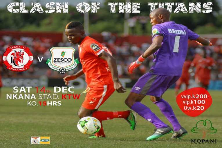 Nkana preps for Zesco United