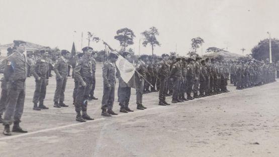 Fotos antigas do Batalhão do Exército em Marabá2