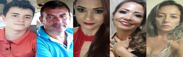 vítimas do acidaente em Santarém