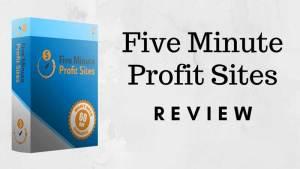 The Five Minute Profit Sites