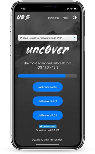 The new UO4S App Store (u04) provides the ability to install unc0ver Jailbreak applications without a computer. ( revoke fixed for uncover jailbreak )