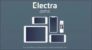 Electra jailbreak developed by CoolStar ( twitter ) Team.
