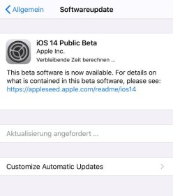 Apple released iOS 14 first beta profiles to the public.  now you can install iOS public beta from the following button.