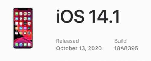 Unc0ver, Chimera, Odyssey, Blizzard, and Checkra1n tools are not yet compatible with iOS 14.1.