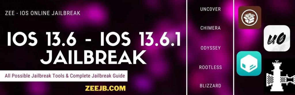 iOS 13.6 iOS 13.6.1 Online jailbreak guide and possible jailbreak solutions.